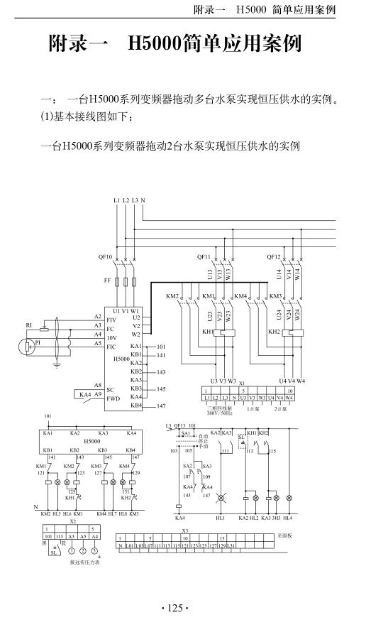 上海众辰h5000变频器说明书